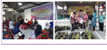 Tanggulangi Nyamuk DB Kecamatan Kotagede Canangkan Tanaman Ratusan Lavender