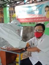 Karyawan - Karyawati  Kecamatan dan Kelurahan  Jalani  Rapid Test covid -19