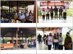 Karya Bakti TNI Satkowil KODIM 0734 Kota Yogyakarta di Kecamatan Kotagede