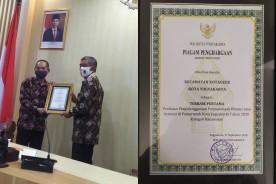 Kecamatan Kotagede menjadi Juara 1 Lomba Perpustakaan Tingkat Kota Yogyakarta ,