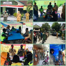 Operasi Yustisi Penerapan Protokol Covid-19 Tetap Gencar Dilaksanakan di Kecamatan Kotagede