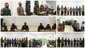 Pengukuhan FKDM (Forum Kewaspadaan Dini Masyarakat) Kelurahan se-Kecamatan Kotagede