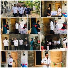 Peresmian Bedah Rumah Tidak Layak Huni (RTLH) CSR BPD DIY oleh Bapak Wakil Walikota Yogyakarta di Wilayah Kecamatan Kotagede